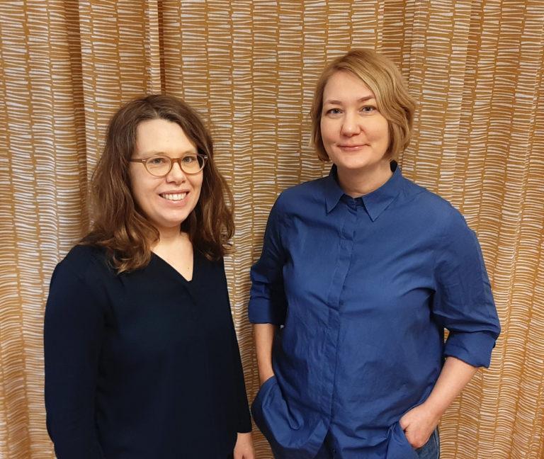 Kajsa Bäckius och Sofia Gydemo